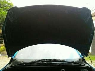 peredam panas kap mesin Peugeot 307