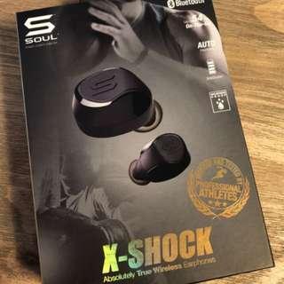 Soul X-SHOCK true wireless earphones (1year Warranty)