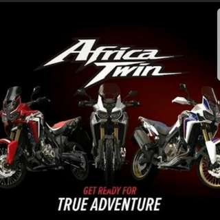 NEW HONDA AFRICAN TWIN FOR SALE