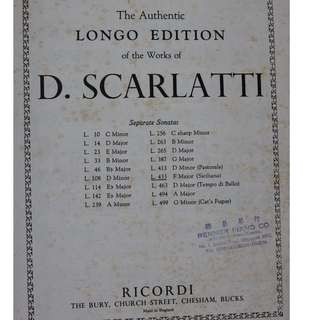 D. Scarlatti Sonatas L.433 F Major (Siciliana)