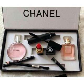 Chanel set with parfume