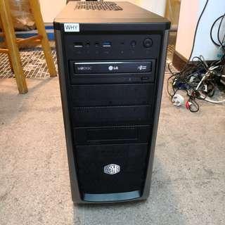 E5 2620主機 RAM: 32 GB 硬碟總容量: 1169GB (SSD和HDD)