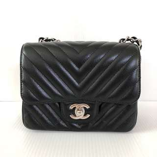 Authentic Chanel Classic Mini Square