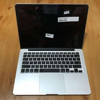 13 inch Macbook Pro Retina (Late 2013) with 512GB SSD and BRAND NEW display unit
