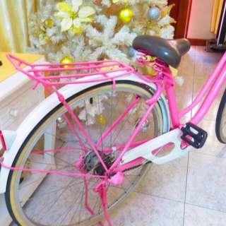 Pink Japanese Bicycle