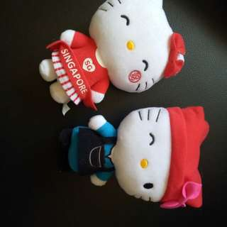 SG50 Hello Kitty 17cm plushies