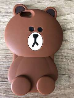 LINE BROWN case Iphone 6plus 6s plus