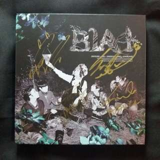 B1A4 In The Wind signed album