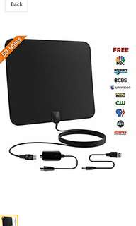 48.Hud amplified digital tv antenna