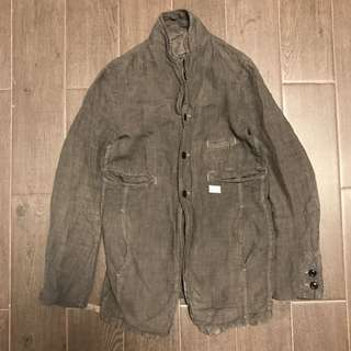 Undercover washed linen jacket coat 85% new
