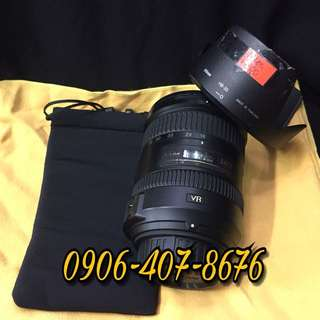 Nikon Nikkor afs 18 200mm vr 2 ii lens with pouch and nikon HB 35 lenshood