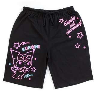 Japan Sanrio Kuromi Half Pants