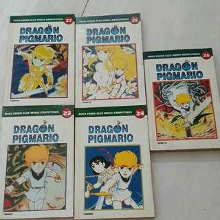 komik dragon pigmario no. 23-27