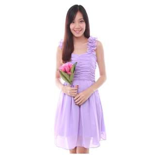Maddie Dress in Lavender by The BMD Shop