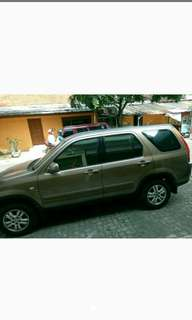 Crv matic 2004