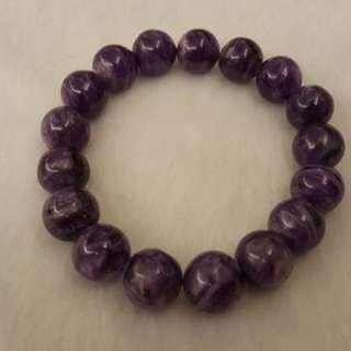 紫龍晶手串12mm