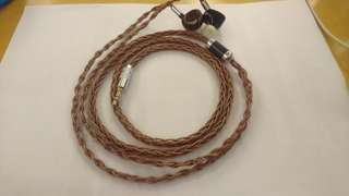 Copper litz 8 braided