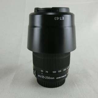 Canon EF-S 55-250mm F4-5.6 IS STM 平輸 變焦望遠鏡頭 新版步進馬達 極新品