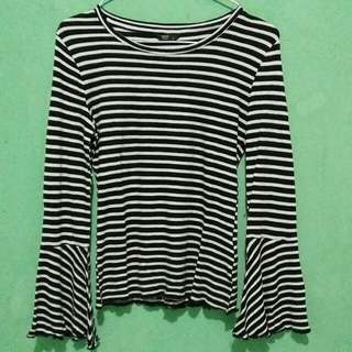 Stripe Top Flare by Factorie