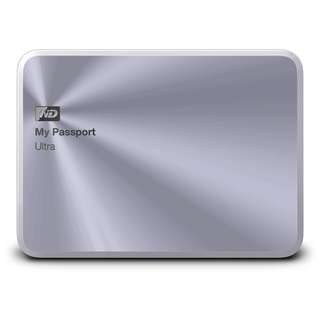 BNIB - WD My Passport Ultra Metal Edition 1 TB Silver External Hard drive