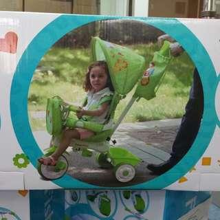 Fisher price 兒童腳踏手推車