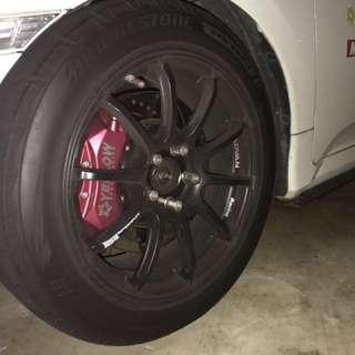 Bridgestone poteza RE003 size 225/50/17