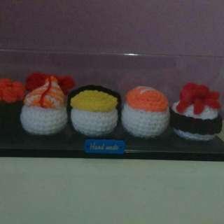 Handmade Crochet Sushi Amigurumi