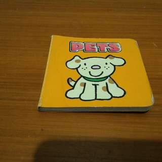 Boardb Book Binatang Kartun