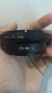 Fd - m43 adapter