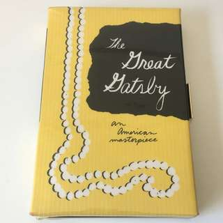 "Kate Spade ""The Great Gatsby"" Book Clutch"