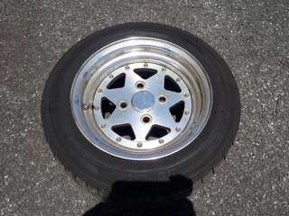 T speed wheels 12x6jj 2piece