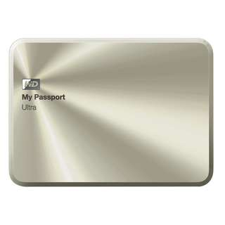 BNIB - WD 1TB Gold My Passport Ultra Metal Edition Portable External Hard Drive