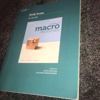 MACROECONOMIC STUDY GUIDE