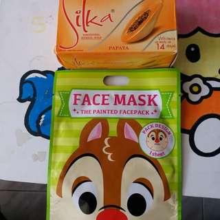 木瓜皂,mask