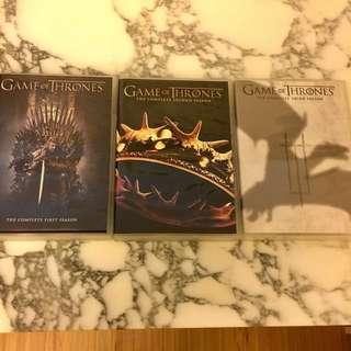 Game of Thrones Seasons 1-3