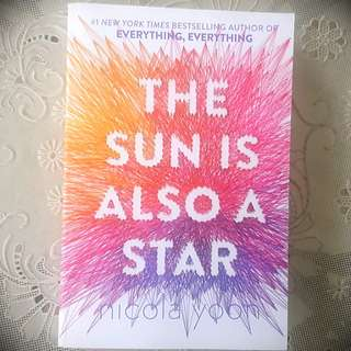 English Novel - The Sun is Also a Star