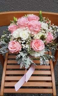 Bridal bouquet - handtied