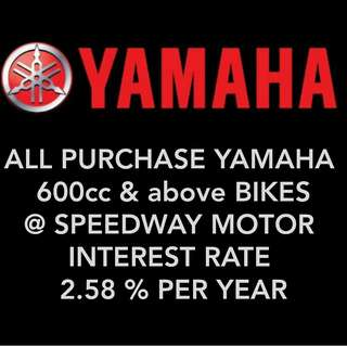 Yamaha 600cc n above