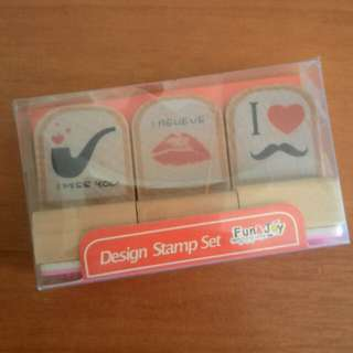 Rubber Stamps (3 in 1)