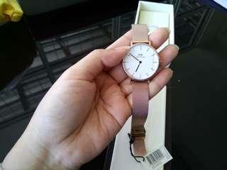 Daniel Wellington - Jam tangan Classic Petite Melrose 32MM