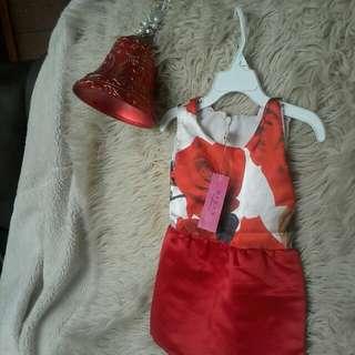 Dress bayi discount 50 persen jahitan butik