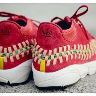 "🚚 NIKE AIR FOOTSCAPE WOVEN CHUKA KNIT 紅蜈蚣 ""RED REEF""紅珊瑚配色"