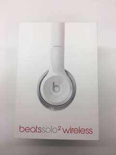 Beats solo 2 wireless 耳機
