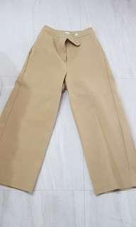 Beige Wide Leg pants w24 - 26