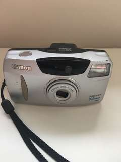 Canon sure shot 65 zoom film camera