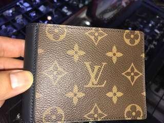 LV 雙色 男裝短銀包 全新購自法國保證真品