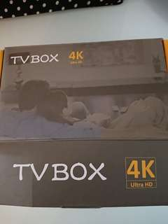 安博盒子Tv box 4kUltra HD