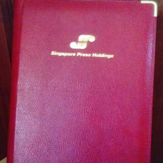 Unused SPH 1994 hardcover diary