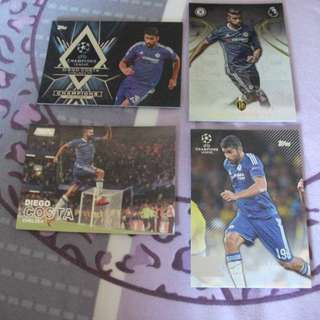 Diego Costa Chelsea Trading Cards