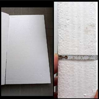 [THICK & FIRM] CRAFT/HOME/GARDENING - Approximately 110 x 60 x 5 cm Industrial/Commercial Styrofoam Board For Sale
